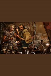 Плакат паспарту - г-н Коуалски и Алън Пери
